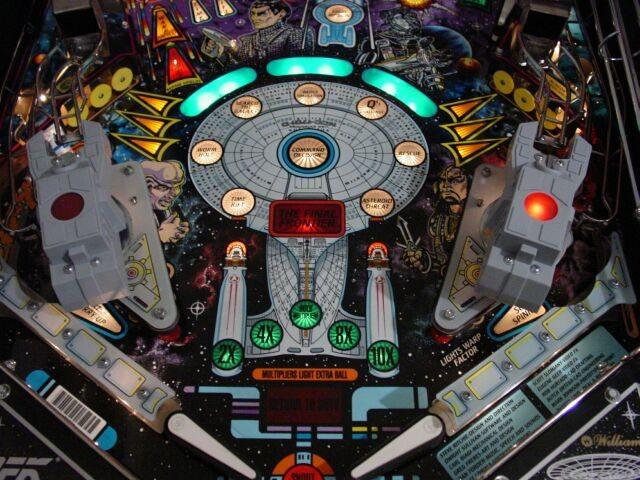 Star Trek: The Next Generation Lower Playfield