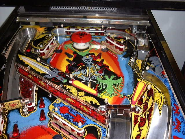Black Knight Upper Playfield