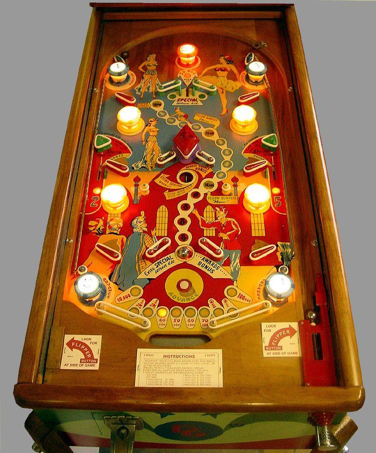 Ali-Baba Illuminated Playfield