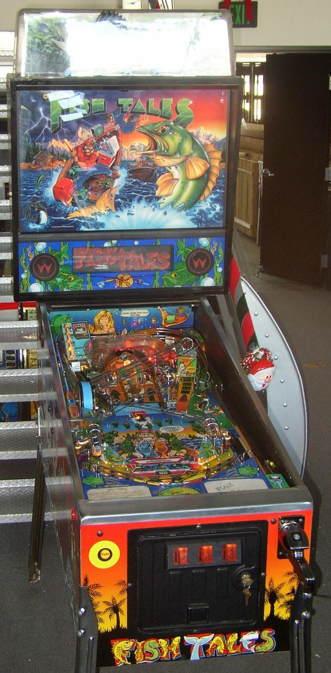 A fishing lure inside a pinball machine? | 94 9 The River
